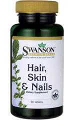Витамины для волос, кожи и ногтей Swanson